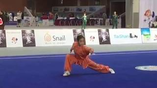 2017 7th World Kung Fu Championship - 9 Sectional Whip Bronze Medal - Nina Frias