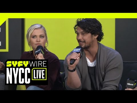 Cast Of The 100 On Losing Cast Members | NYCC 2018 | SYFY WIRE
