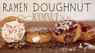 Ramnut: How to Make a Ramen Donut! | Eat the Trend
