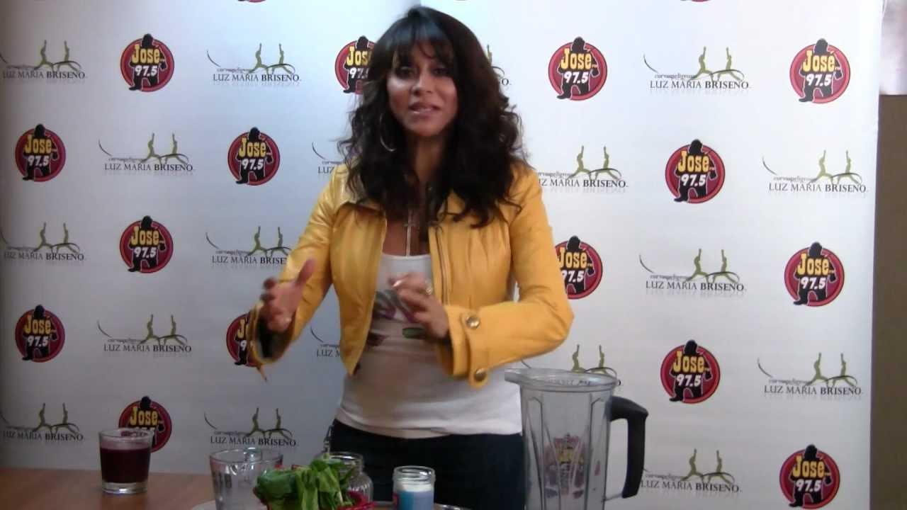 Curvas Peligrosas Con Luz Maria Briseño Cómo Preparar Jugo V8