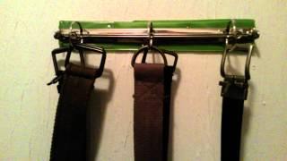 DIY belts organizer Thumbnail