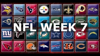 NFL Week 7 Picks & Predictions 2019 | 2020
