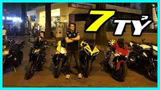 PKL - Dàn xe mô tô cực khủng trị giá 7 tỷ đi dạo phố Sài Gòn đêm (It's time for having fun)