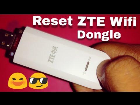 Reset ZTE 3G Wifi Dongle (ZTE AW3632) - YouTube