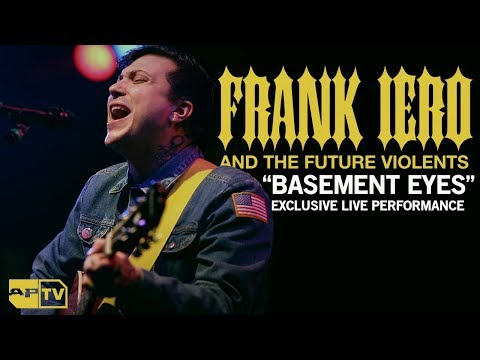 "Frank Iero and The Future Violents -  ""Basement Eyes"" Performance"