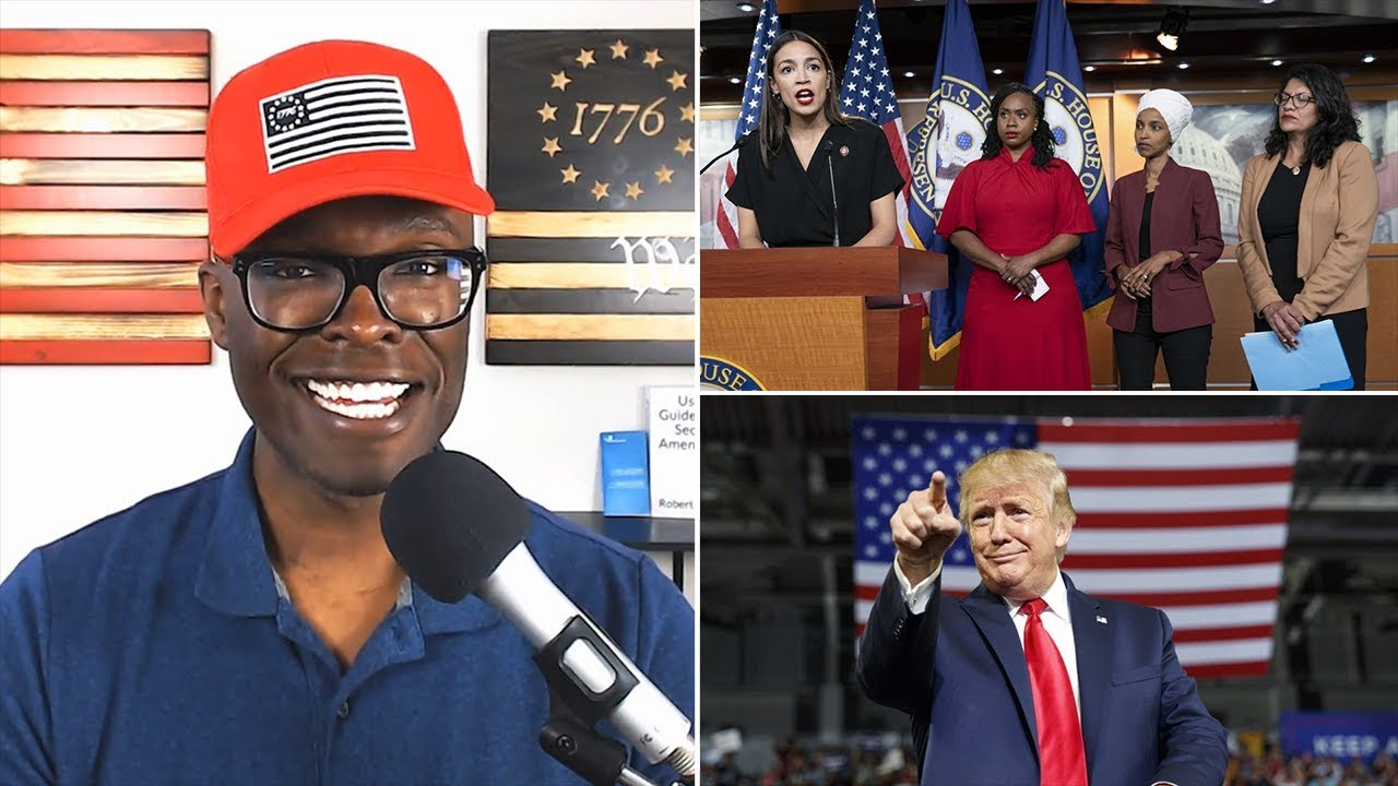"""ABL Black Conservative Interviewed About Trump's """"Go Back"""" Comments"""