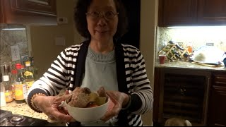 Cookin' With Grandma - Cantonese Winter Melon Soup 冬瓜汤 [hq 1080p]