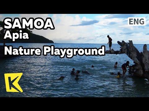 【K】Samoa Travel-Apia[사모아 여행-아피아]자연이 만든 놀이터/Playground/Nature/Child/Nature pool