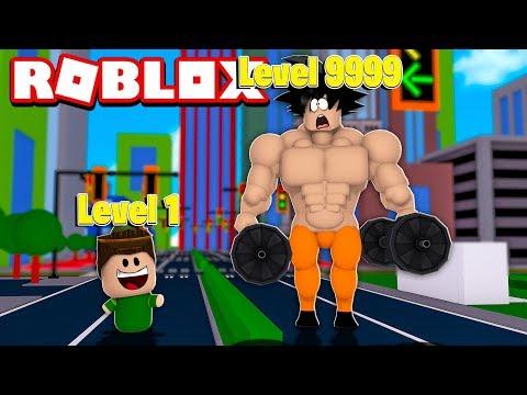 FICAMOS FORTES NA ACADEMIA DE OURO DO ROBLOX!! (Muscle Simulator 2)