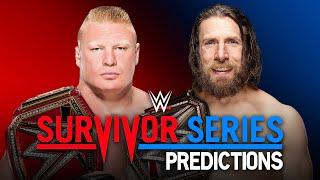 WWE Survivor Series 2018 Predictions