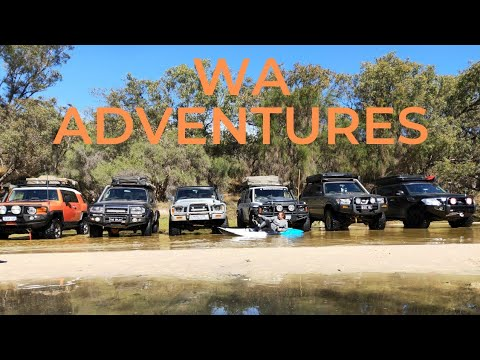 4x4 TOWING A CANOE!!!!Moore River