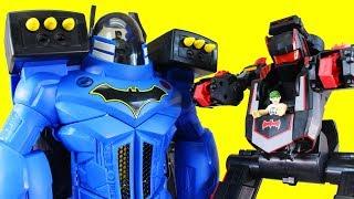 Imaginext Batman Transforming Batbot Vs. Batbot Xtreme Robot