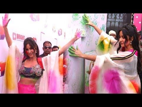 Katrina Kaif CRAZY Holi Celebration At Zoom Holi Party 2019 Mp3