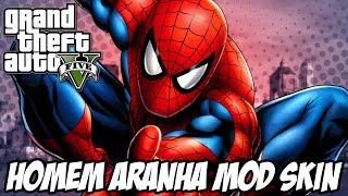 GTA 5 - Homem Aranha MOD SKIN