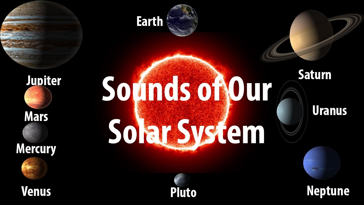 Sound of Planets in our Solar System -[NASA] Sun to Pluto ...