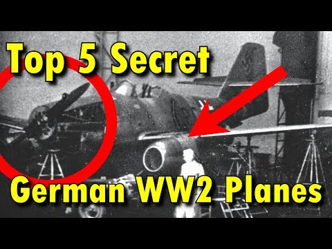 Top 5 Secret German WW2 Planes