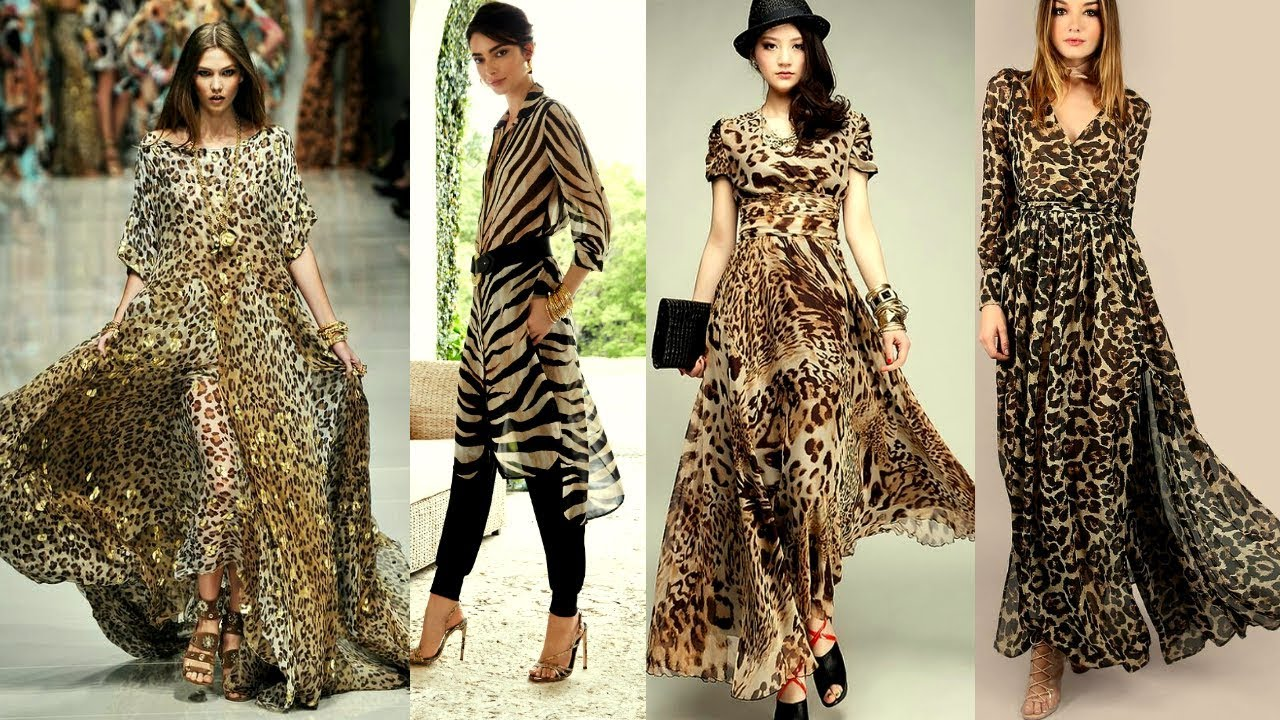 Stylish Tiger Print Kurti Design|Tiger Print Latest Smart  Collection|Stylish Dress for girls|