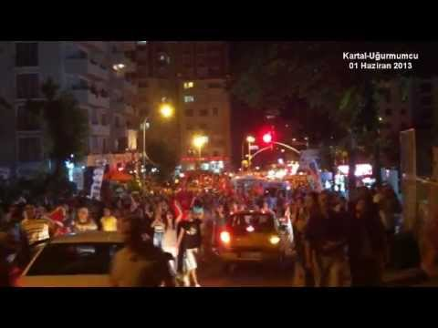 01 Haziran 2013 - Kartal Uğur Mumcu Mahallesi'nde herkes sokakta