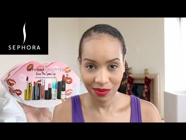 Sephora Favorites | Give Me Some Lip Lip Kit | Tarte, KatVonD, Urban Decay, Anastasia Beverly Hills