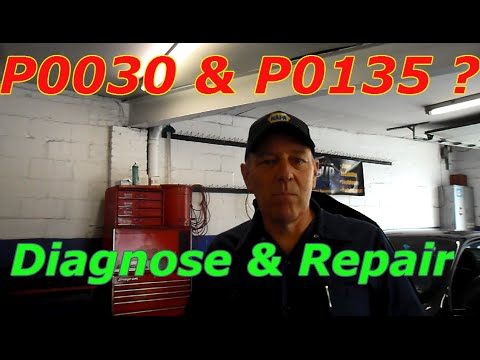 Diagnose And Repair A P0030 and P0135 On A Chevy Cobalt ...