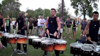 Bluecoats Drumline 2014 - Vortex