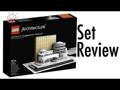 Lego Architecture 21004 Solomon R. Guggenheim Museum Animated Building Review
