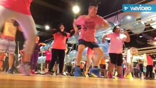 zumba at celebrity fitness