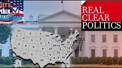 New RealClearPolitics 2020 Electoral Map