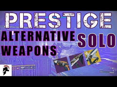 Destiny 2 - Solo Prestige Nightfall - Bubble only - 180 RPM hand cannon, sub machine gun + Telesto