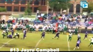 Jayru Campbell Cass Tech QB Freshman Highlights