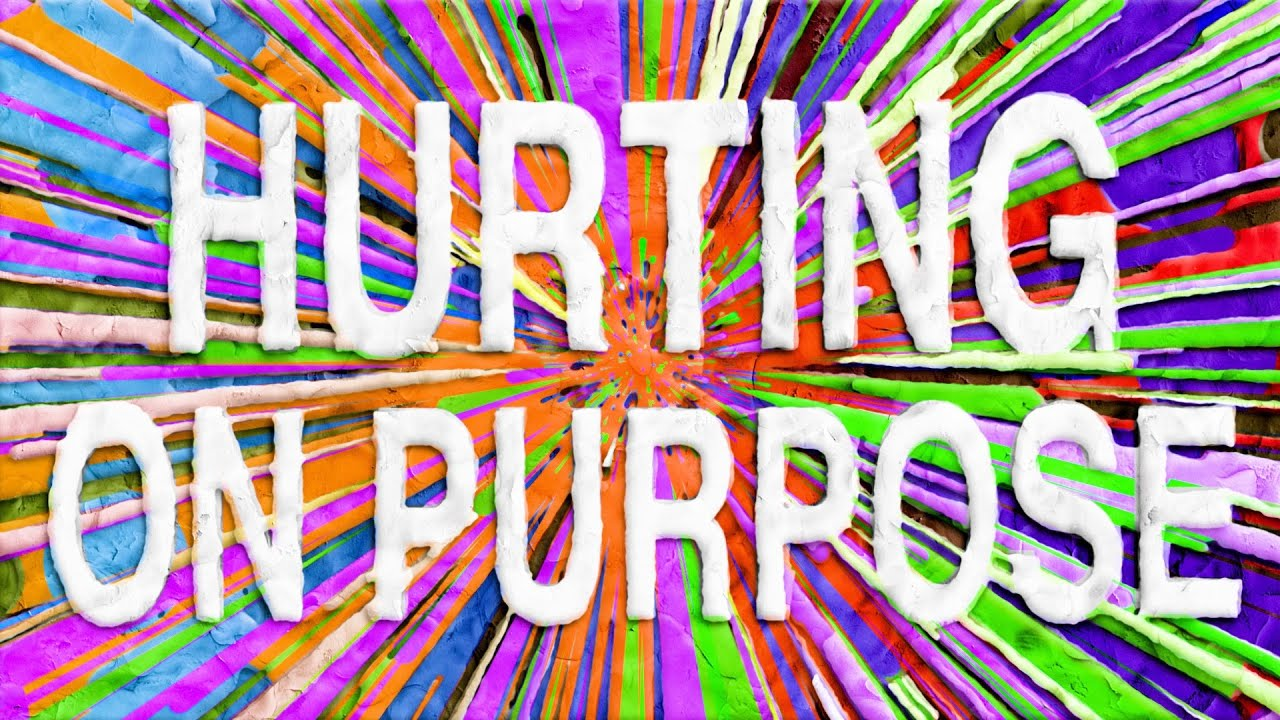 Whethan - Hurting on Purpose (feat. K.Flay) [Lyric Video]
