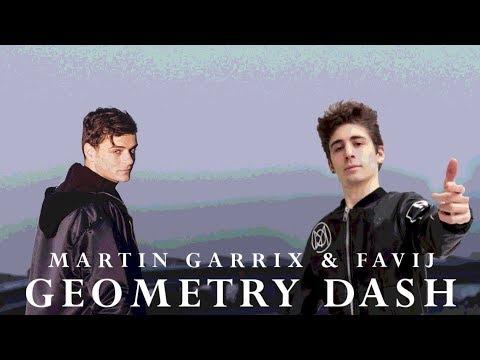 Martin Garrix & Favij - Geometry Dash (Official Video)