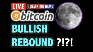 BITCOIN BULLISH Signals Forming RIGHT NOW?!❗️LIVE Crypto Analysis TA & BTC Cryptocurrency Price News