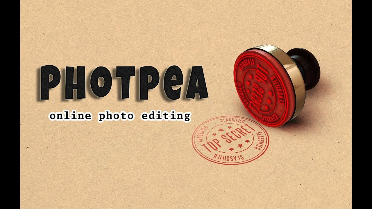 How to use Photopea, online photo editing site    Text Effect in photo  editing