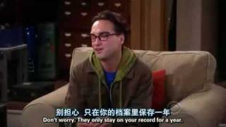 Three Strikes -Big Bang Theory Season 2 Episode 7 Clips