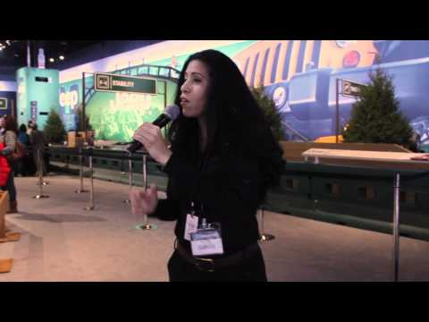Mimi Smith - Emcee at Chicago Auto Show 2012 for Chrysler