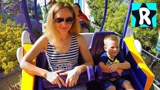 Влог МИР ГАРРИ ПОТЕРА и Мега Новогоднее party для Деток в Парке Universal Studios Видео для Детей