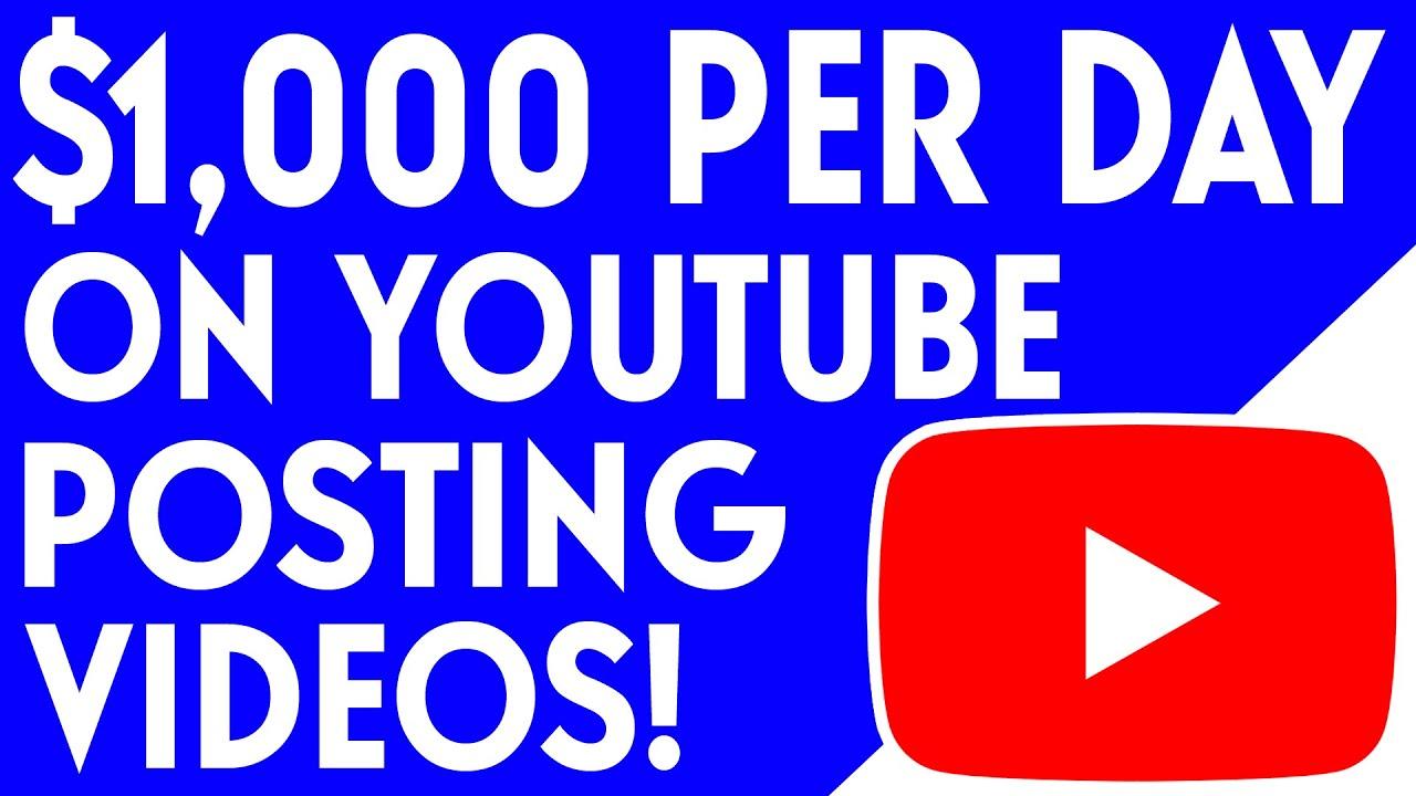 Post Simple Videos & Make $1000/DAY – QUICK TUTORIAL (Make Money Online)
