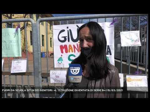 FUORI DA SCUOLA SIT IN DEI GENITORI: «L' ISTRUZIONE DIVENTATA DI SERIE B»   15/03/2021
