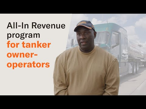 Schneider's All-In Revenue Choice Lease program for tanker owner-operators
