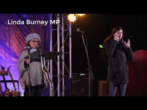 Linda Burney MP at Winter Solstice 2021