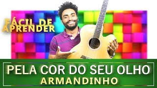 Pela Cor do Teu Olho - Armandinho (AULA DE VIOLÃO 047)