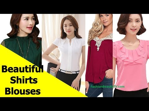 50-beautiful-shirt-and-blouse-designs-for-women-s22