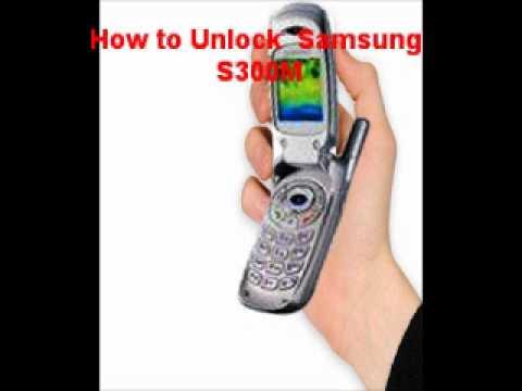Samsung S300M Unlock Code - Free Instructions