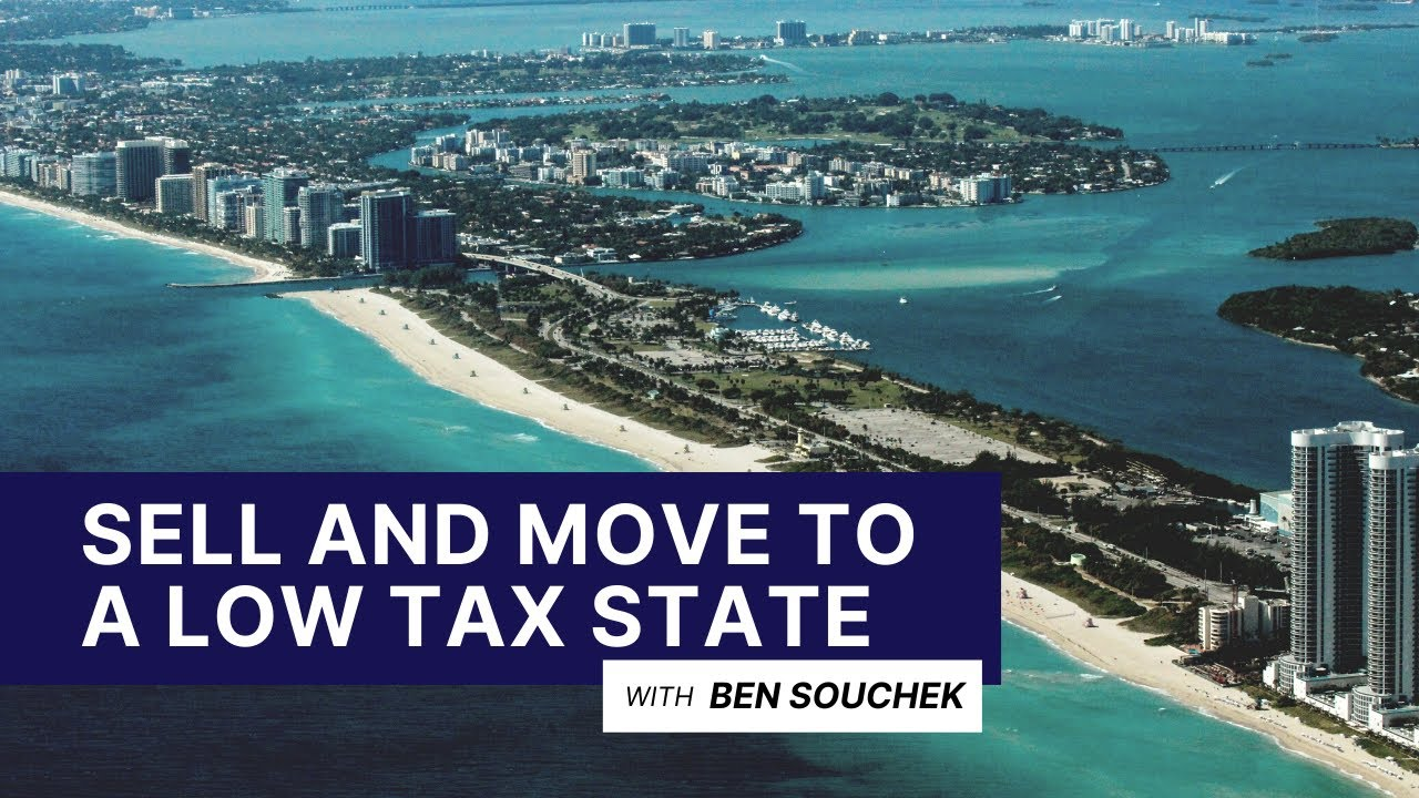 How To Sell Your House And Move To A Low Tax State Like Florida