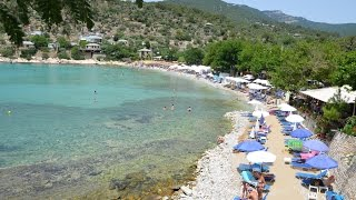 Aliki Beach Thassos Тасос Thasos Greece Sea Aegean Пляж Алики Алікі Греция Греція море(Short video from Aliki beach on Thassos island, Greece. Done for http://oktravels.net/ Aliki beach Travel video Beach Thassos island Thasos Greece Family ..., 2016-10-08T14:56:03.000Z)