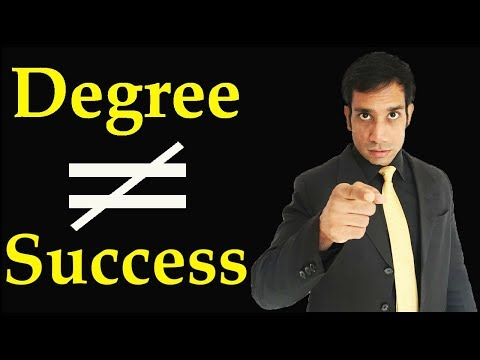Why College Degree will not bring Success to you / Nitin Soni