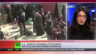 US admits having little data on civilian suffering in Mosul