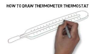 How To Draw Thermometer