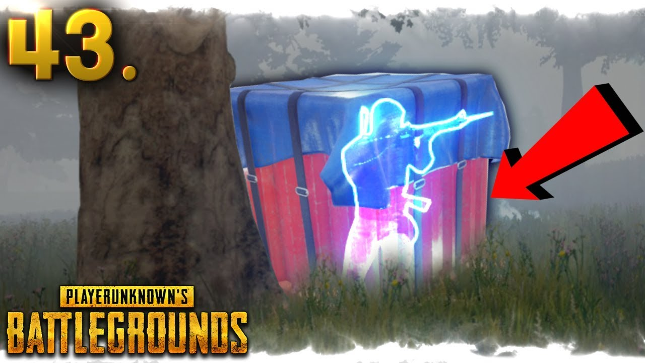Pubg Air Drop Live Wallpaper: Hes INSIDE Air-Drop Box..CRAZY BUG..!!